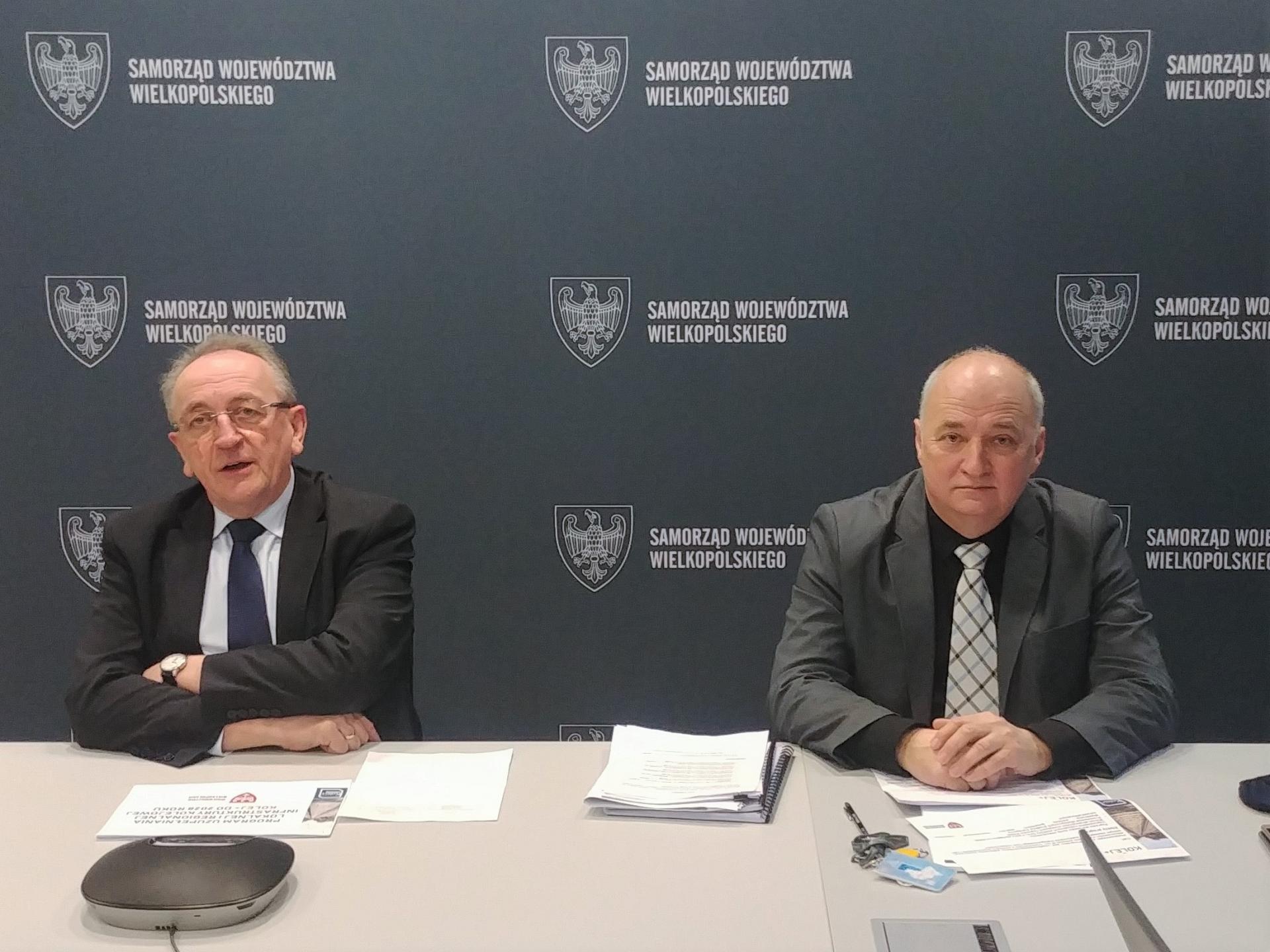 Wicemarszałek Wojciech Jankowiak rozmawiał z samorządowcami o rewitalizacji linii kolejowych - zobacz więcej