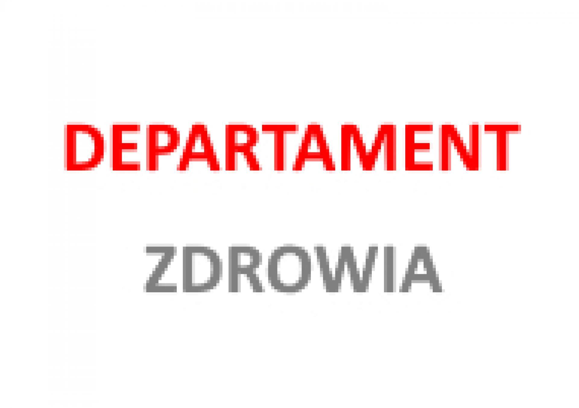 Zawiadomienie dotyczące prac nad projektem uchwały Sejmiku zmieniającej uchwałę w sprawie nadania statutu Zakładowi Leczenia Uzależnień w Charcicach - zobacz więcej