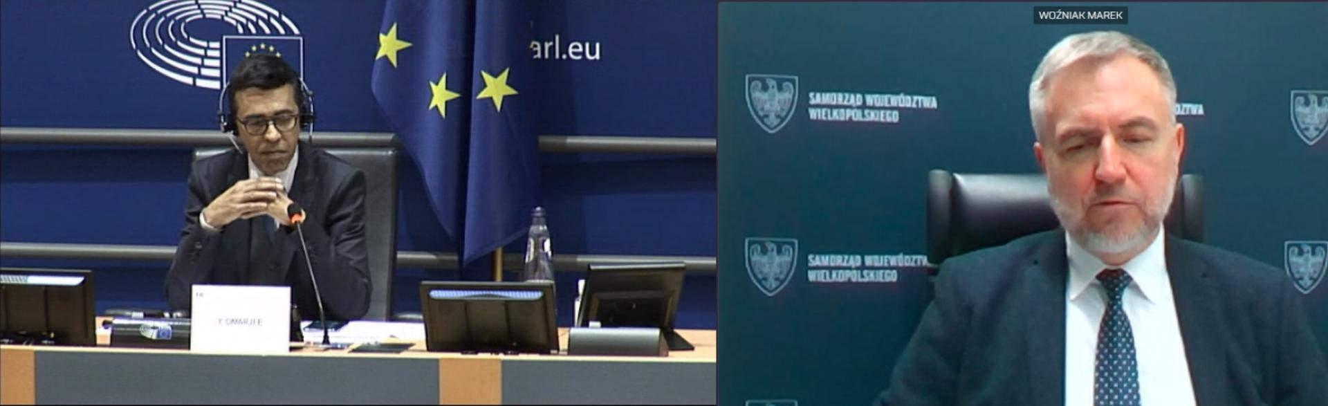 Marszałek Woźniak w Parlamencie Europejskim wzywa do większego włączenia regionów w tworzenie planów odbudowy - zobacz więcej