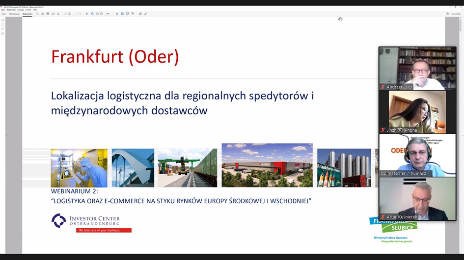 Drugie webinarium dla wielkopolskich przedsiębiorców o możliwościach w Kraju Związkowym Brandenburgia (D) - zobacz więcej