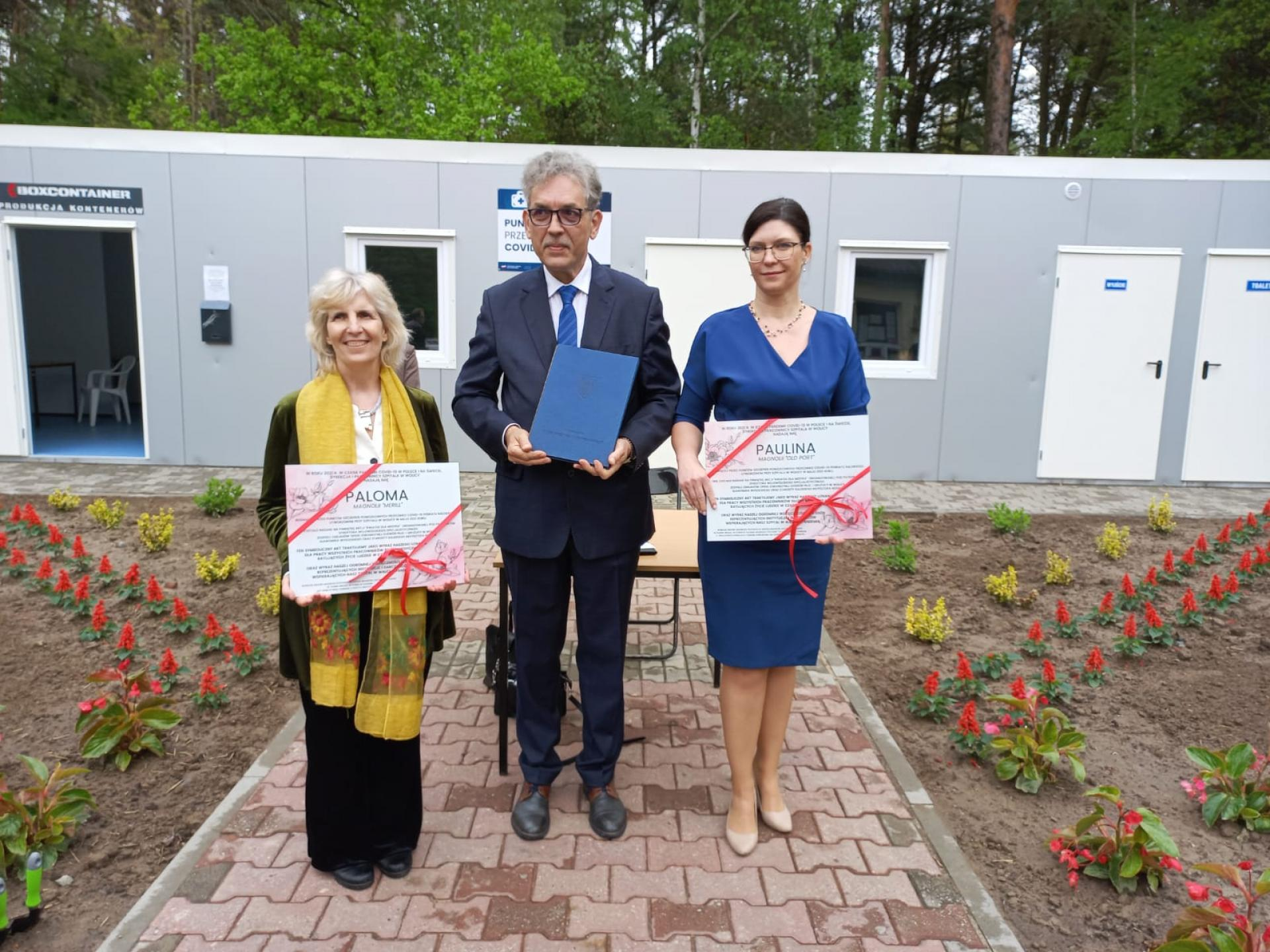 Przedstawicielka WHO odwiedziła szpital w Wolicy - zobacz więcej