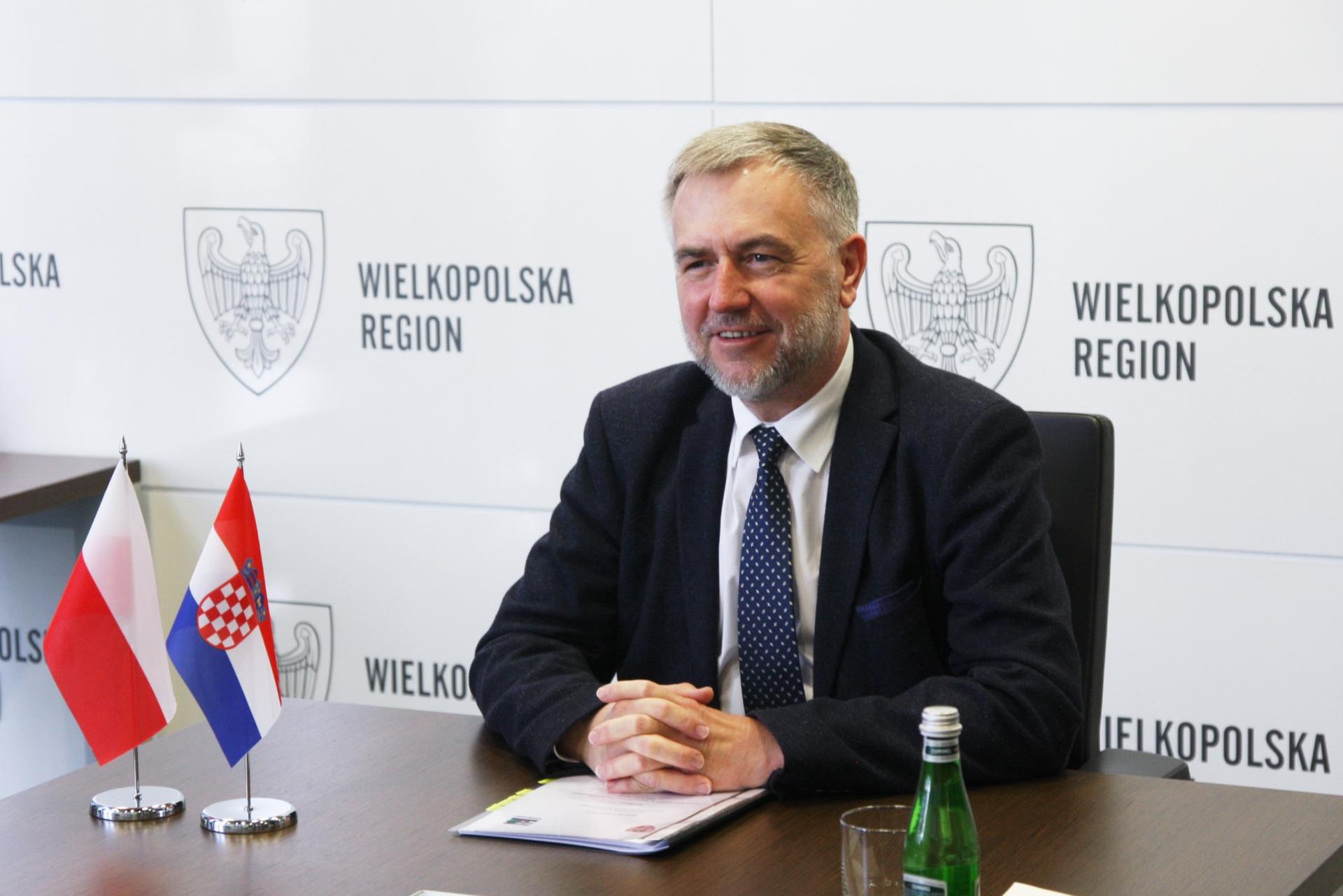 O przyszłości współpracy Wielkopolski i chorwackiej Żupanii Vukovarsko-Srijemskiej – spotkanie online  - zobacz więcej
