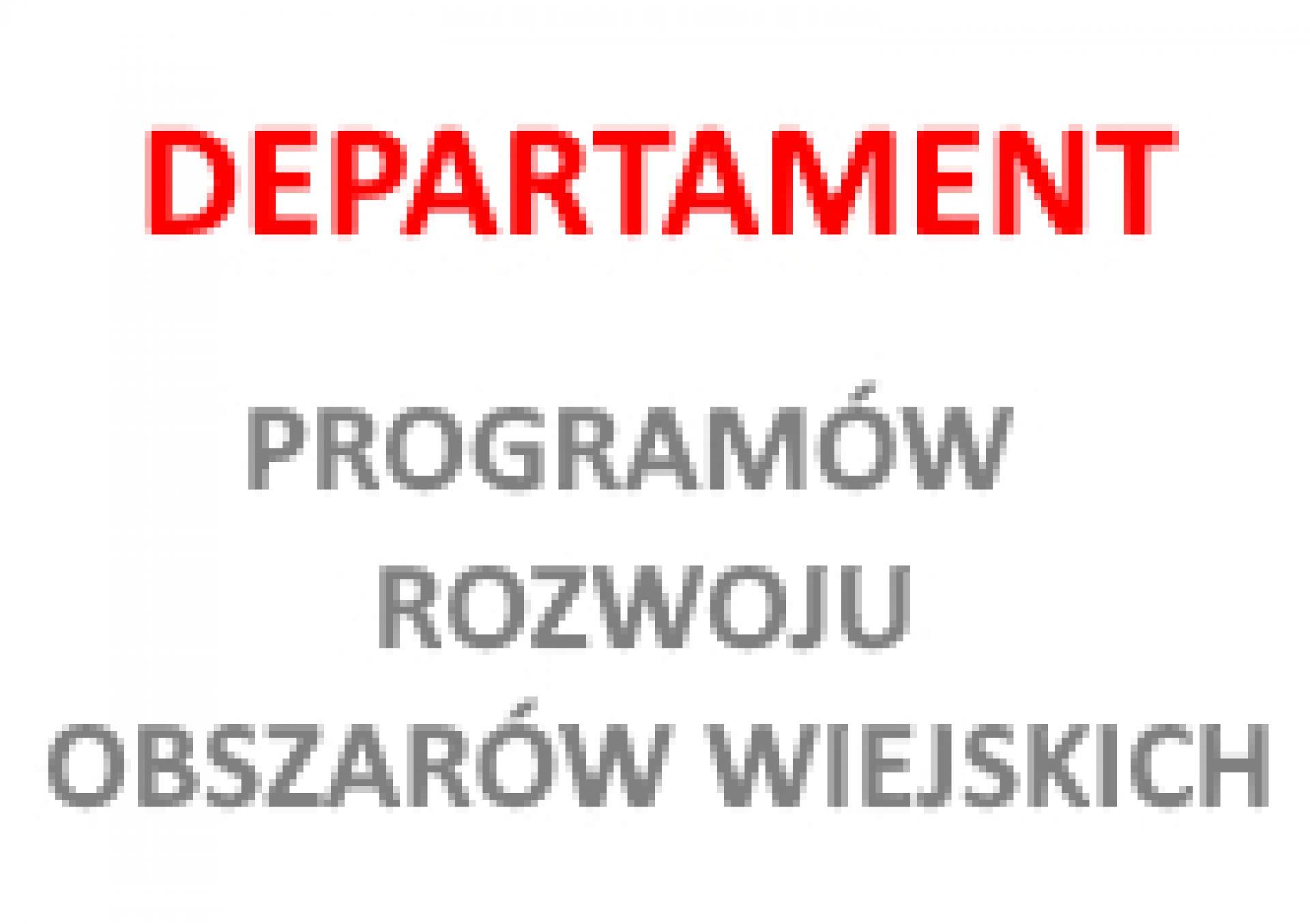PROW 2014-2020 Ważna informacja dla wnioskodawców - zobacz więcej