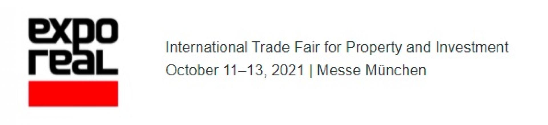 Nabór na targi inwestycyjne EXPO REAL 2021 w Monachium (Niemcy), 11-13 października 2021 r. - zobacz więcej