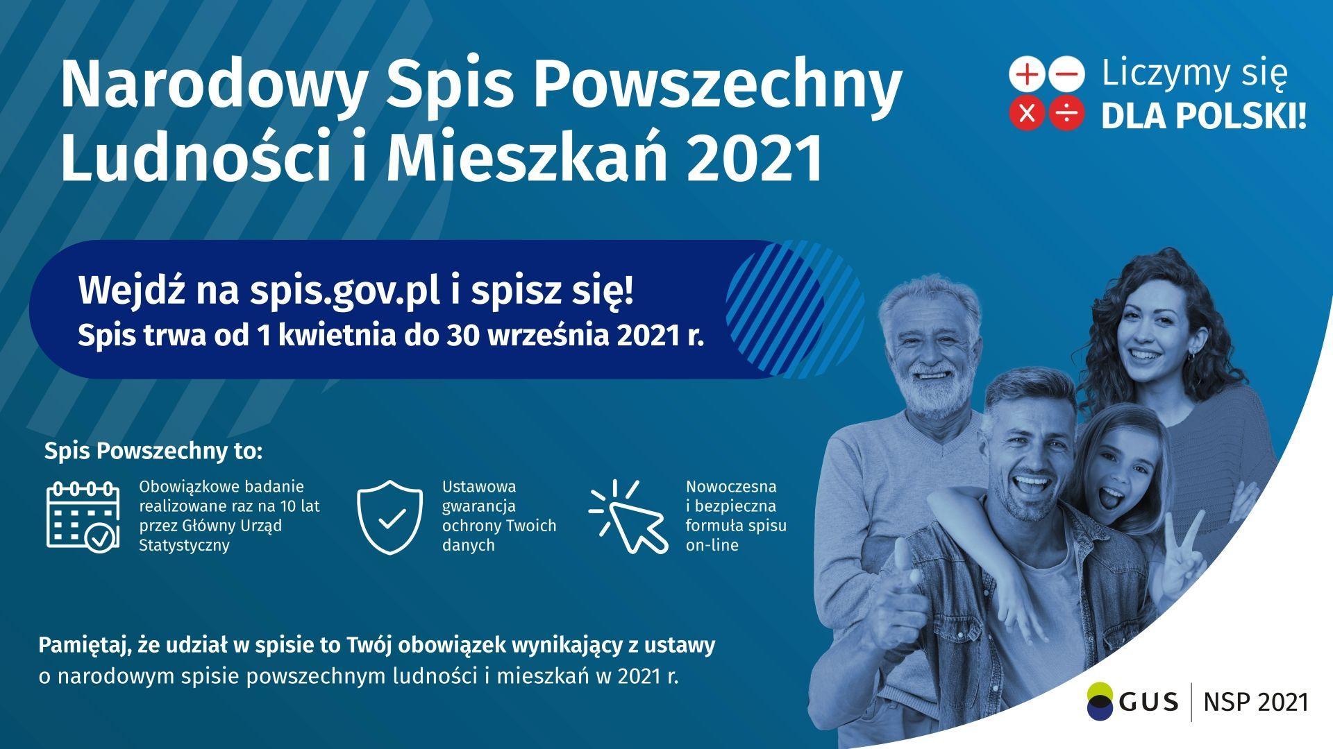 TRWA SPIS POWSZECHNY - zobacz więcej
