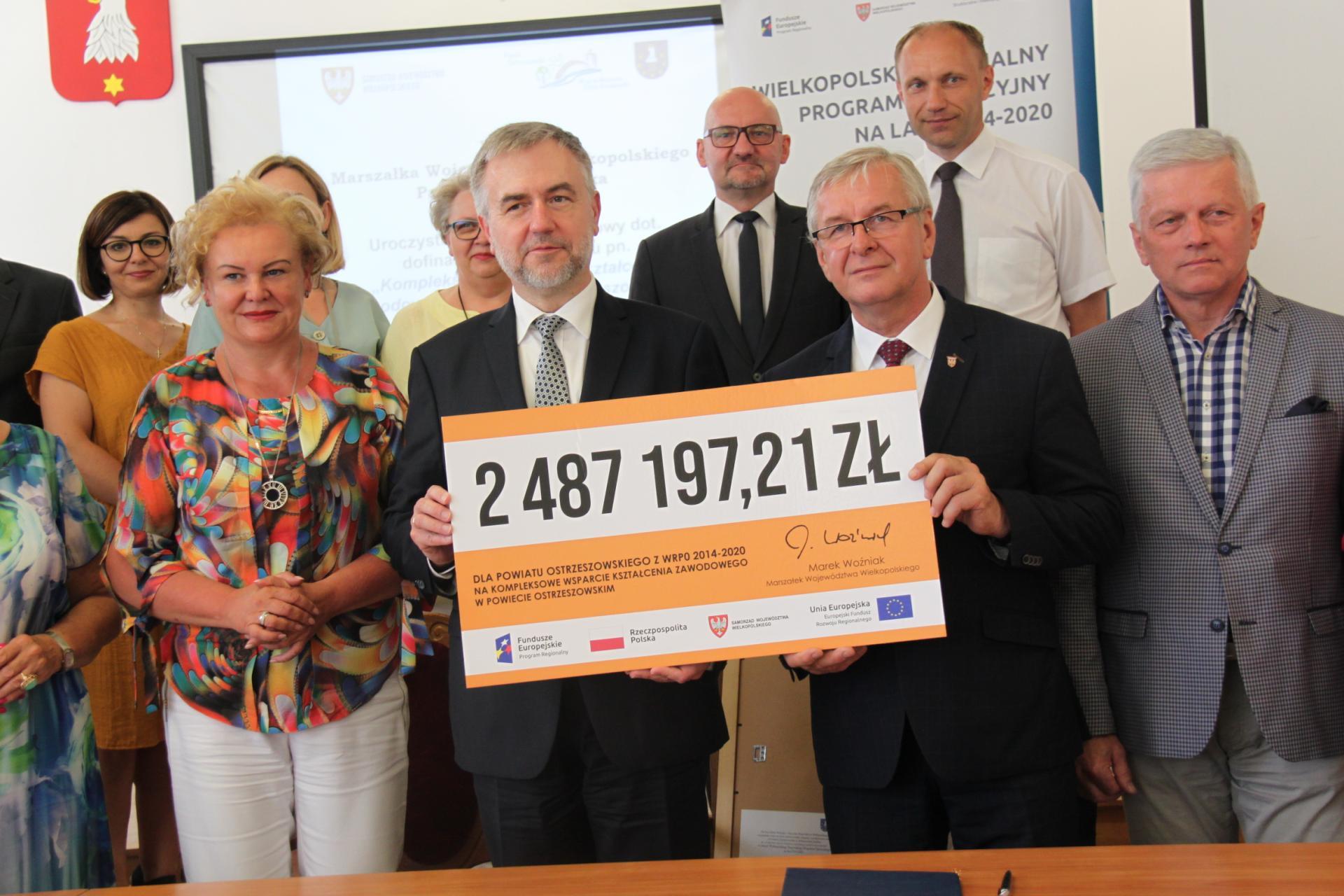 Wielkopolskie samorządy lokalne zrealizują kolejne inwestycje przy wsparciu środków unijnych z WRPO 2014+  - zobacz więcej