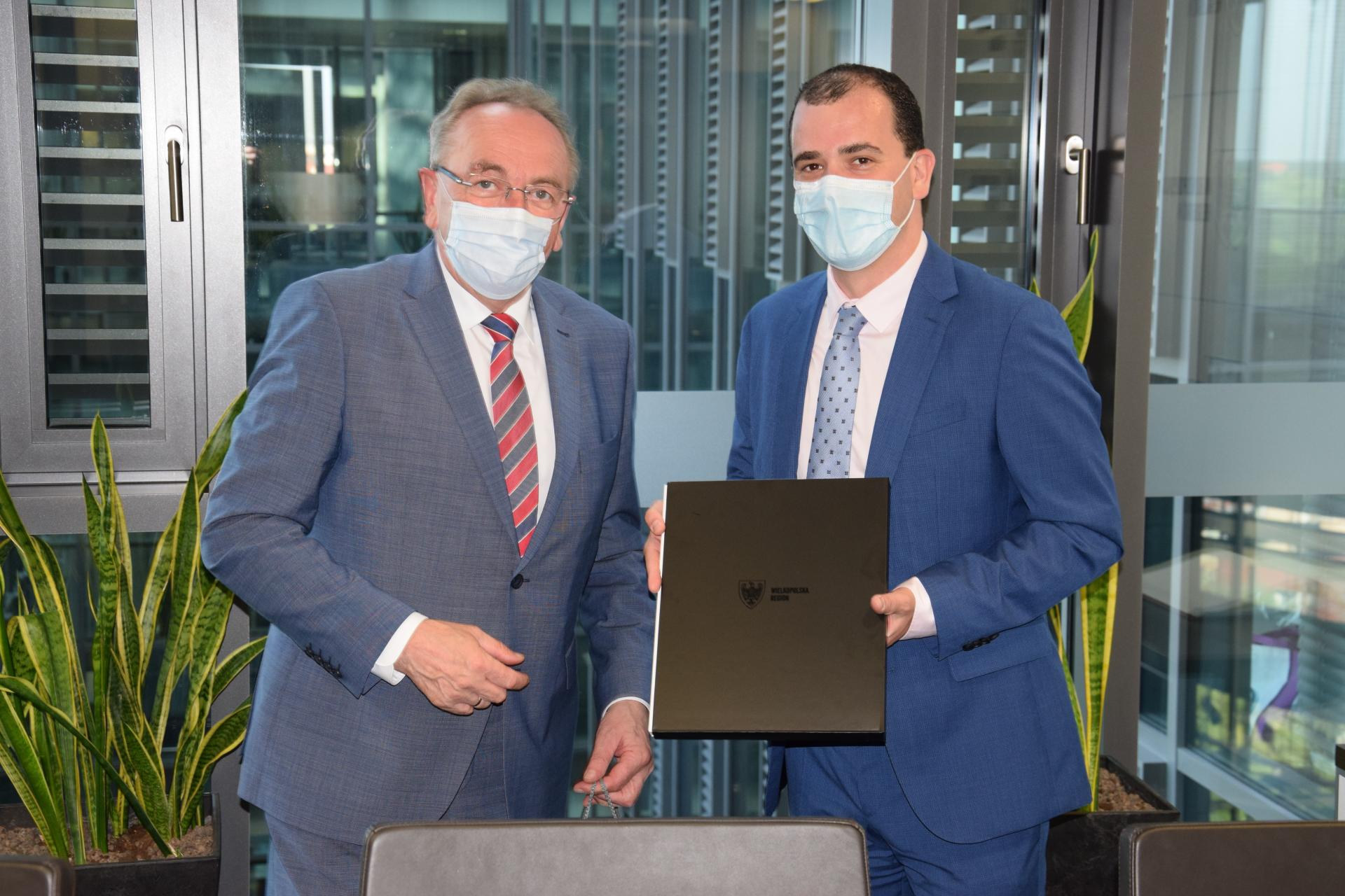 Nowy przedstawiciel rządu Flandrii z pierwszą wizytą w Wielkopolsce - zobacz więcej