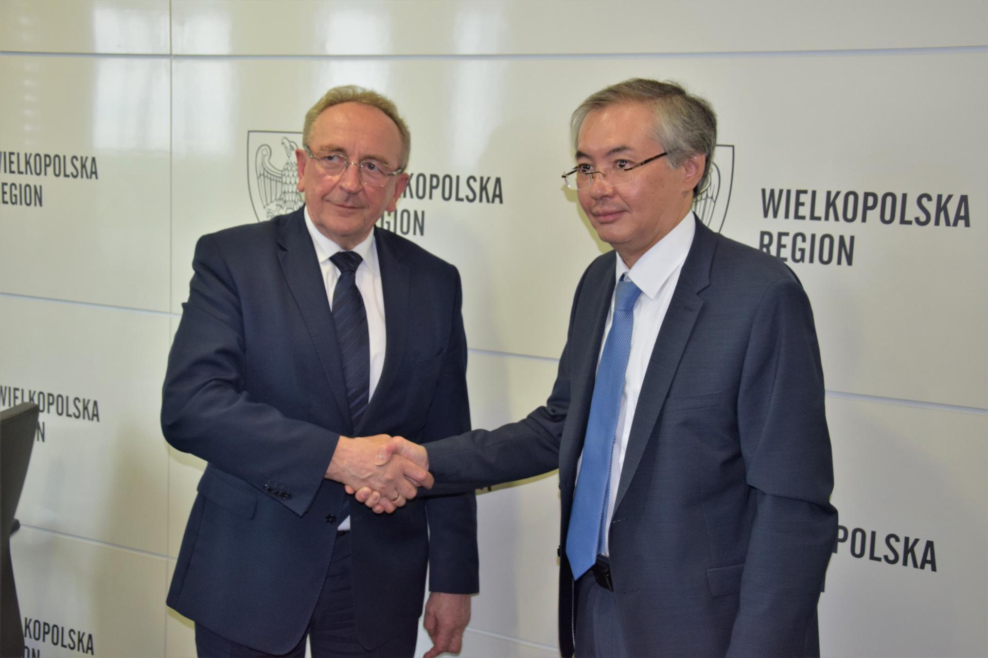 Spotkanie z Ambasadorem Kazachstanu  - zobacz więcej