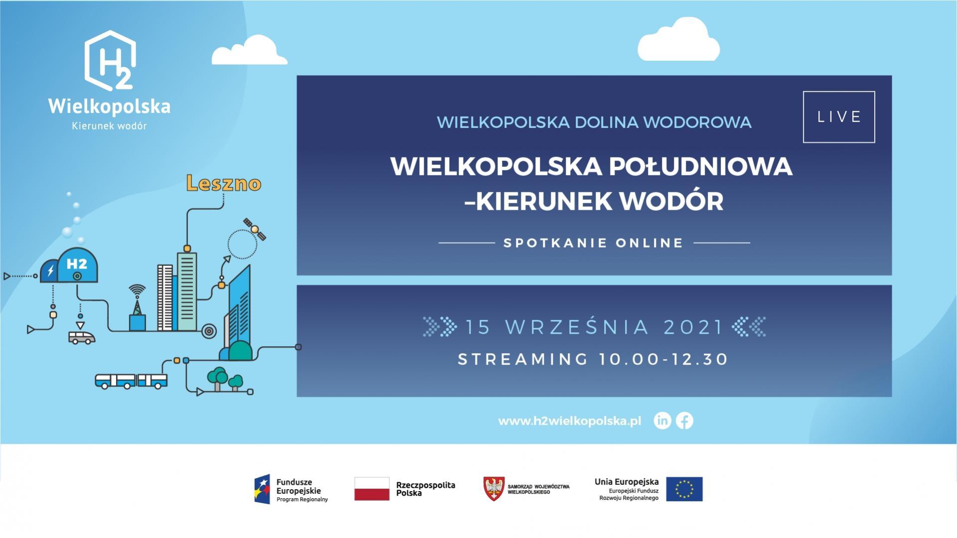 Fenomen Wielkopolskiej Doliny Wodorowej  – spotkanie on-line 15 września br. - zobacz więcej