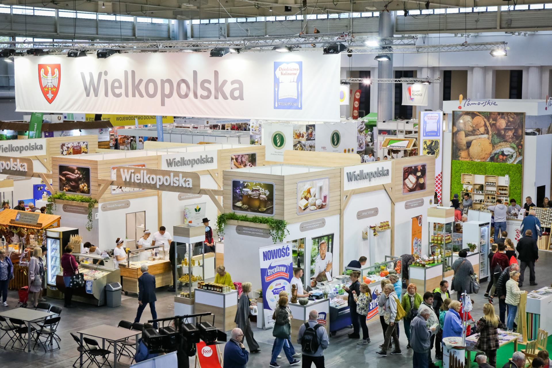 Zapraszamy na stoisko Wielkopolski podczas Targów Smaki Regionów  - zobacz więcej