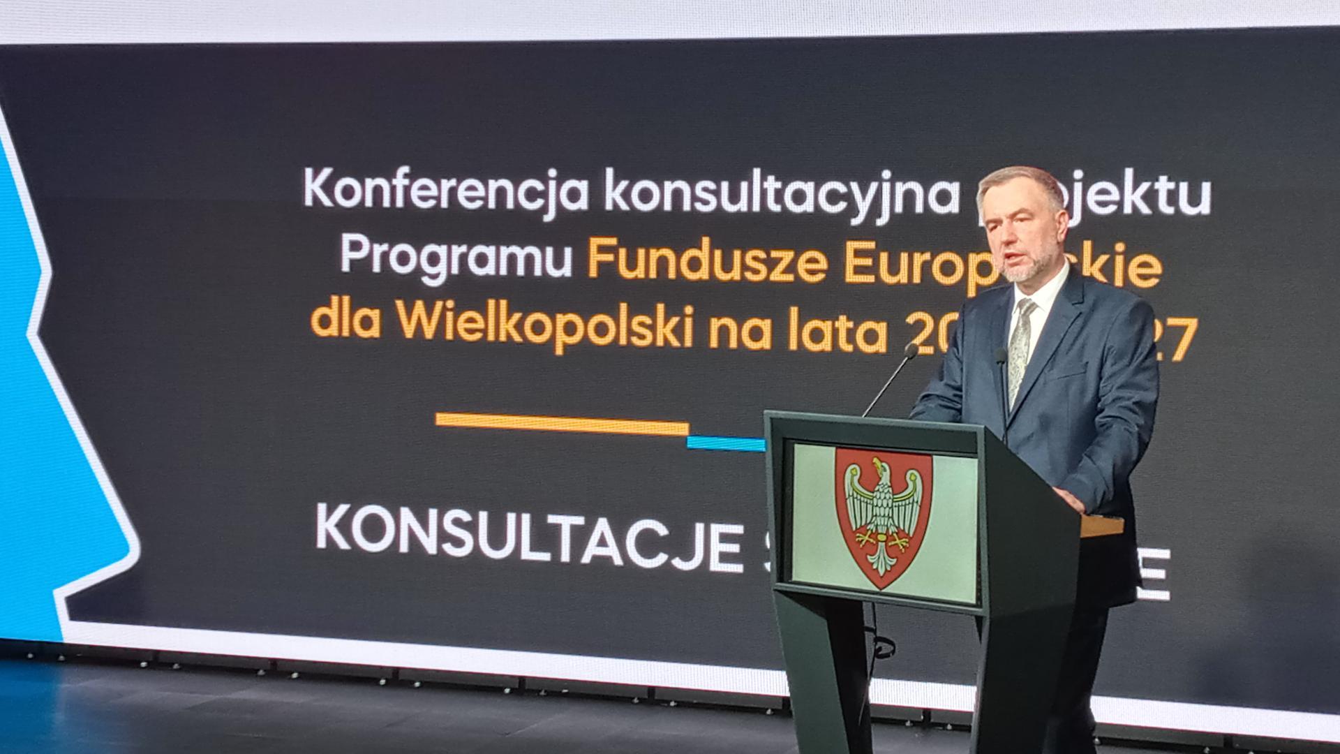 Rozpoczęły się konsultacje nowego programu unijnego dla Wielkopolski - zobacz więcej