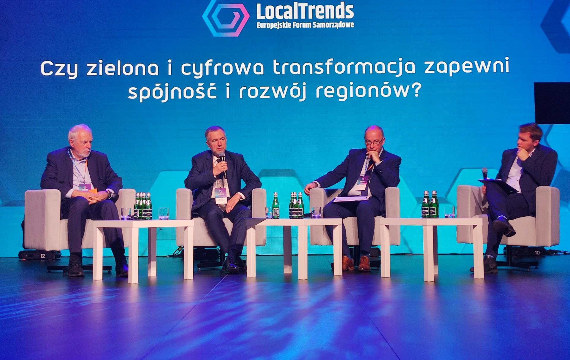Marszałek na Local Trends: Nie będzie zielonej transformacji bez uczciwego dialogu z mieszkańcami  - zobacz więcej