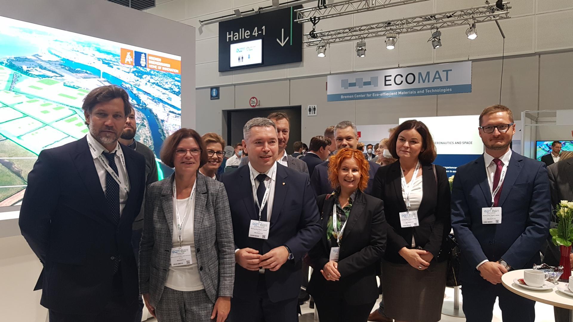 Wielkopolska delegacja na wydarzeniu Hydrogen Technology Expo Europe w Bremie - zobacz więcej