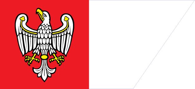 die Flagge der Wielkopolska Region