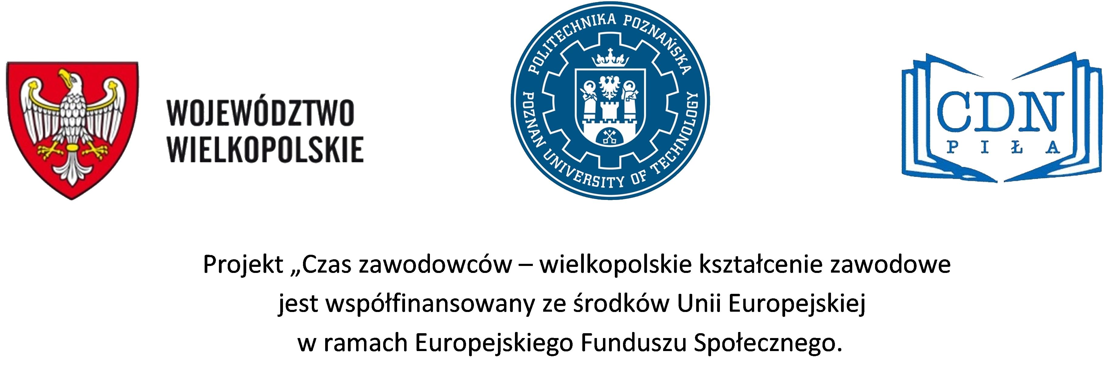 Projekt współfinansowany ze środków unijnych EFS