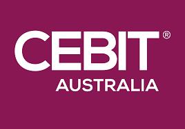 CEBIT logo fiolet