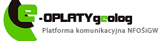eopłaty geolog logo