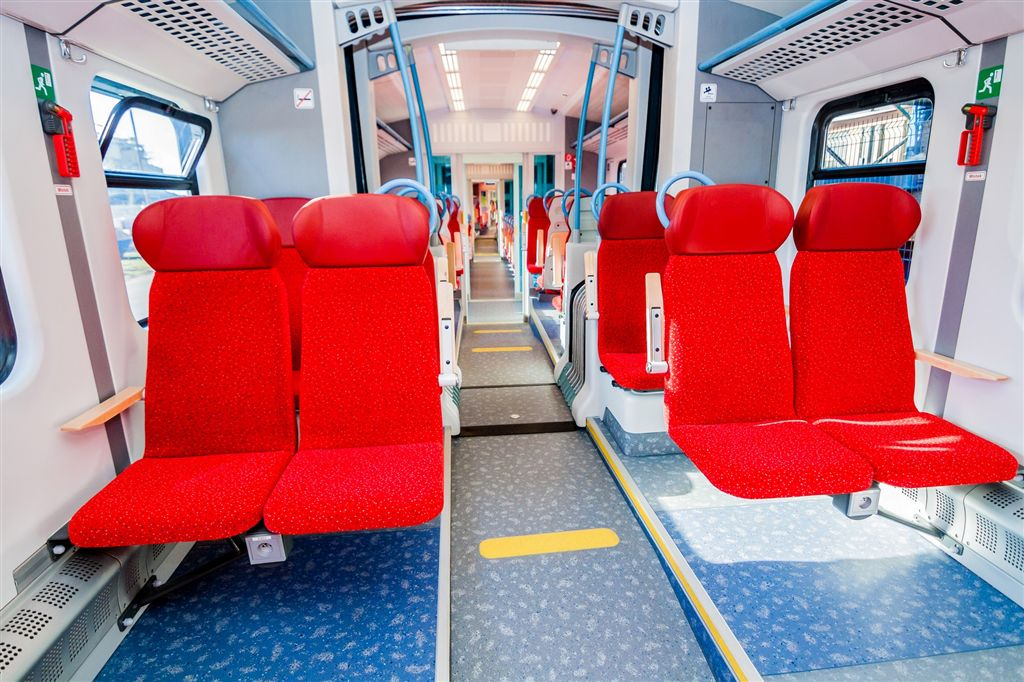 elf train interior
