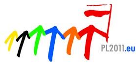 Polskie Przewodnictwo w Radzie Unii Europejskiej logo